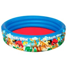 Foto Piscina Inflável 450 l Redonda Bestway Angry Birds