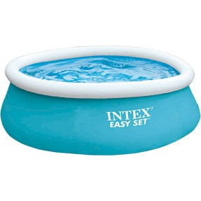Foto Piscina Inflável 886 l Redonda Intex Easy Set