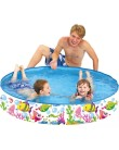Piscina Snapset 350 l Redonda Jilong World Pool Peixes