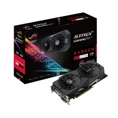 Foto Placa de Video ATI Radeon RX 470 4 GB GDDR5 256 Bits Asus STRIX-RX470-04G-GAMING