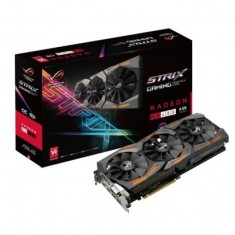Foto Placa de Video ATI Radeon RX 480 8 GB GDDR5 256 Bits Asus STRIX-RX480-8G-GAMING