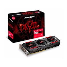 Foto Placa de Video ATI Radeon RX 570 4 GB GDDR5 256 Bits PowerColor AXRX 570 4GBD5-3DH/OC