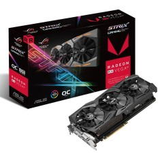 Foto Placa de Video ATI Radeon RX VEGA 64 8 GB HBM2 2048 Bits Asus ROG-STRIX-RXVEGA64-O8G-GAMING