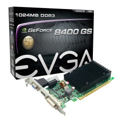 Foto Placa de Video NVIDIA GeForce 8400 GS 1 GB DDR3 64 Bits EVGA 01G-P3-1303-KR