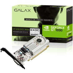 Foto Placa de Video NVIDIA GeForce GT 1030 2 GB GDDR5 64 Bits Galax 30NPH4HVQ5EW