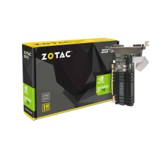 Foto Placa de Video NVIDIA GeForce GT 710 1 GB DDR3 64 Bits Zotac ZT-71301-20L