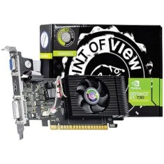 Foto Placa de Video NVIDIA GeForce GT 730 4 GB DDR3 128 Bits Point Of View VGA-730-C5-4096