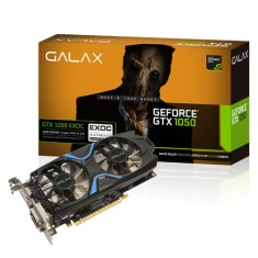 Foto Placa de Video NVIDIA GeForce GTX 1050 2 GB GDDR5 128 Bits Galax 50NPH8DVN6EC