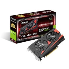 Foto Placa de Video NVIDIA GeForce GTX 1050 Ti 4 GB GDDR5 128 Bits Asus EX-GTX1050TI-O4G