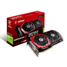 Foto Placa de Video NVIDIA GeForce GTX 1070 8 GB GDDR5 256 Bits MSI GTX 1070 GAMING X 8G