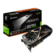 Foto Placa de Video NVIDIA GeForce GTX 1080 Ti 11 GB GDDR5X 352 Bits Aorus GV-N108TAORUS X-11GD