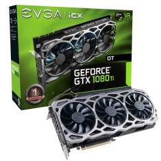 Foto Placa de Video NVIDIA GeForce GTX 1080 Ti 11 GB GDDR5X 352 Bits EVGA 11G-P4-6694-KR