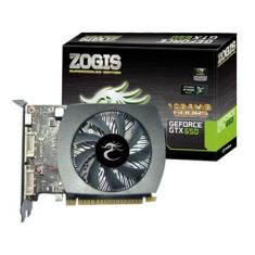 Foto Placa de Video NVIDIA GeForce GTX 650 1 GB GDDR5 128 Bits Zogis ZOGTX650-1GD5H