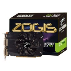 Foto Placa de Video NVIDIA GeForce GTX 750 1 GB GDDR5 128 Bits Zogis ZOGTX750-1GD5
