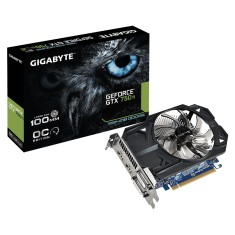 Foto Placa de Video NVIDIA GeForce GTX 750 Ti 1 GB GDDR5 128 Bits Gigabyte GV-N75TOC-1GI