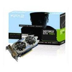 Foto Placa de Video NVIDIA GeForce GTX 750 Ti 2 GB GDDR5 128 Bits Galax 75IPH8DV9JXZ