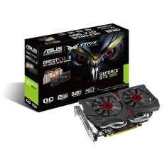 Foto Placa de Video NVIDIA GeForce GTX 960 2 GB GDDR5 128 Bits Asus STRIX-GTX960-DC2OC-2GD5