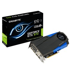 Foto Placa de Video NVIDIA GeForce GTX 970 4 GB GDDR5 256 Bits Gigabyte GV-N970TTOC-4GD