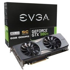 Foto Placa de Video NVIDIA GeForce GTX 980 Ti 6 GB GDDR5 384 Bits EVGA 06G-P4-4993-KR