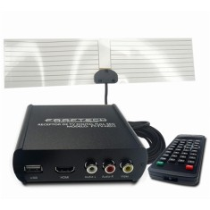 Foto Receptor de TV Digital Full HD HDMI USB FT-TV-HD II Faaftech
