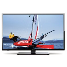 "Foto Smart TV LED 32"" Semp Toshiba LE3278i 2 HDMI LAN (Rede)"