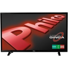 "Foto Smart TV LED 39"" Philco PH39E31DSGW 2 HDMI USB"