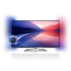 "Foto Smart TV LED 3D 55"" Philips Série 7000 Full HD 55PFL7008G/78"