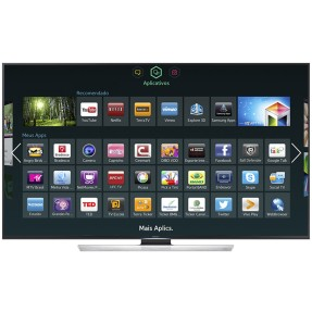 "Foto Smart TV LED 3D 55"" Samsung Série 8 4K UN55HU8500"
