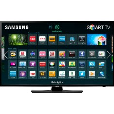 "Foto Smart TV LED 40"" Samsung Série 5 Full HD UN40H5103 2 HDMI"