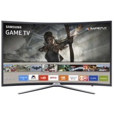 "Foto Smart TV LED 40"" Samsung Série 6 Full HD UN40K6500 3 HDMI"