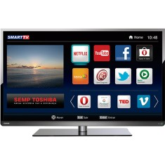 "Foto Smart TV LED 40"" Semp Toshiba Full HD 40L5400 3 HDMI USB"