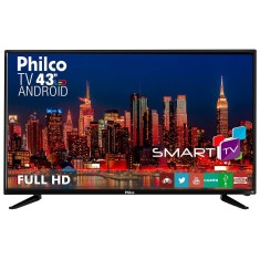 "Foto Smart TV LED 43"" Philco Full HD PH43N91DSGWA"