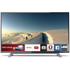 "Foto Smart TV LED 43"" Semp Toshiba Full HD 43L2500 HDMI LAN (Rede)"