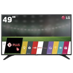 "Foto Smart TV LED 49"" LG Full HD 49LH6000 3 HDMI"