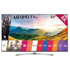 "Foto Smart TV LED 55"" LG 4K HDR 55UJ6545 4 HDMI"