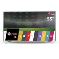 "Foto Smart TV LED 55"" LG 4K 55UH6500 3 HDMI"