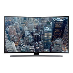 "Foto Smart TV LED 55"" Samsung Série 6 4K UN55JU6700 4 HDMI"