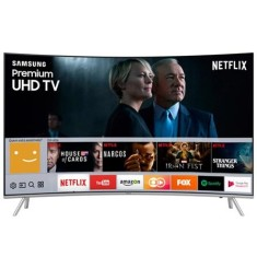 "Foto Smart TV LED 55"" Samsung Série 7 4K HDR UN55MU7500 