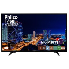 "Foto Smart TV LED 60"" Philco 4K PH60D16DSGWN"