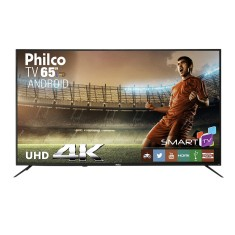 "Foto Smart TV LED 65"" Philco 4K PTV65A11DSGWA 3 HDMI"