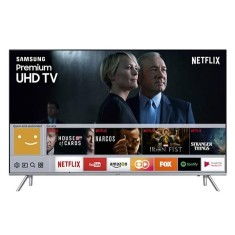 "Foto Smart TV LED 82"" Samsung Série 7 4K HDR UN82MU7000"
