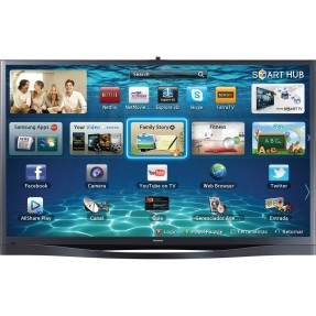 "Foto Smart TV Plasma 3D 64"" Samsung Série 8 Full HD PL64F8500"