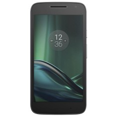 Foto Smartphone Motorola Moto G G4 Play DTV TV Digital 16GB XT1603 8,0 MP 2 Chips Android 6.0 (Marshmallow) 3G 4G Wi-Fi