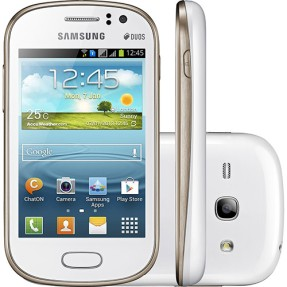 Foto Smartphone Samsung Galaxy Fame Duos 4GB S6812