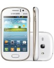Smartphone Samsung Galaxy Fame Duos S6812 5,0 MP 2 Chips 4GB Android 4.1 (Jelly Bean) 3G Wi-Fi
