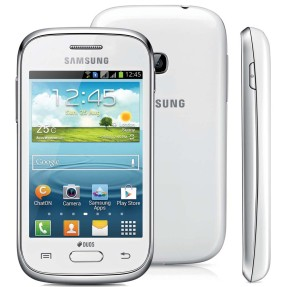 Foto Smartphone Samsung Galaxy Young Plus TV 4GB GT-S6293T