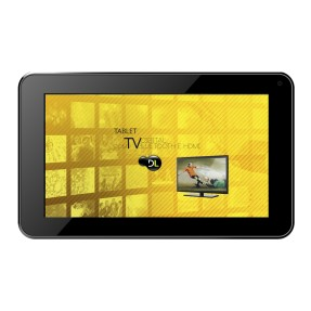 "Foto Tablet DL Eletrônicos e-TV 8GB 7"" Android 4.2 (Jelly Bean Plus)"
