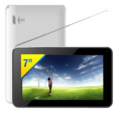 "Foto Tablet DL Eletrônicos TP100 8GB 7"" Android 4.2 (Jelly Bean Plus)"