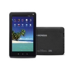 "Foto Tablet Mondial 8GB 7"" Android 2 MP 4.4 (Kit Kat)"