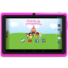 "Foto Tablet NavCity NT-1711 Princesinhas 4GB 7"" Android 4.0 (Ice Cream Sandwich)"